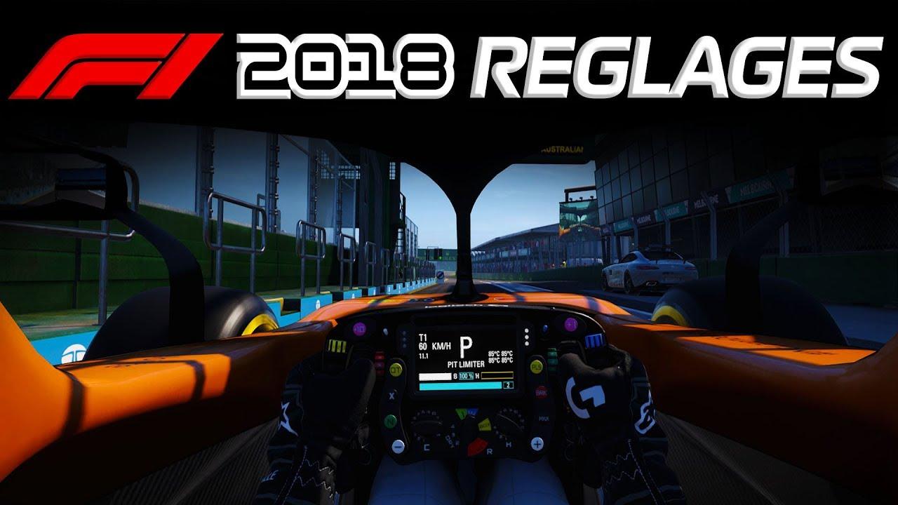 F1 2018  Mes réglages Caméra   Volant ! - YouTube fea60fd8f352