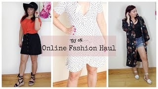 Online Shopping Try On Haul - Pretty Little thing & More | MakeupBySaz