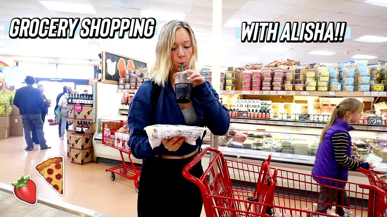 Download grocery shopping with alisha at trader joes!!