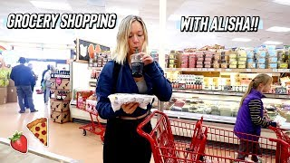 grocery shopping with alisha at trader joes!!