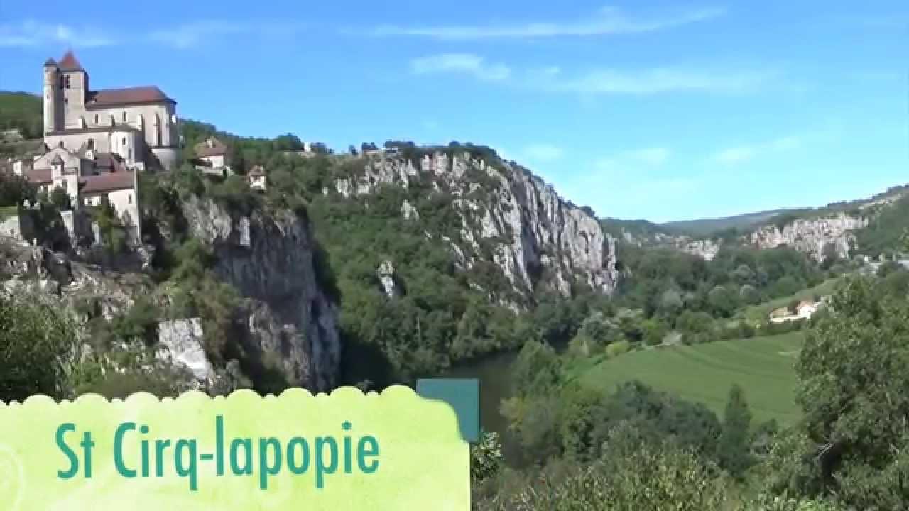 Tourisme lot cahors rocamadour st cirq lapopie youtube - Office de tourisme saint cirq lapopie ...