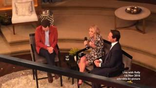 Benedict Cumberbatch on Live with Kelly    1st November 2016