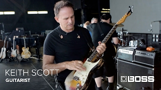 BOSS Chats with Keith Scott - Guitarist for Bryan Adams