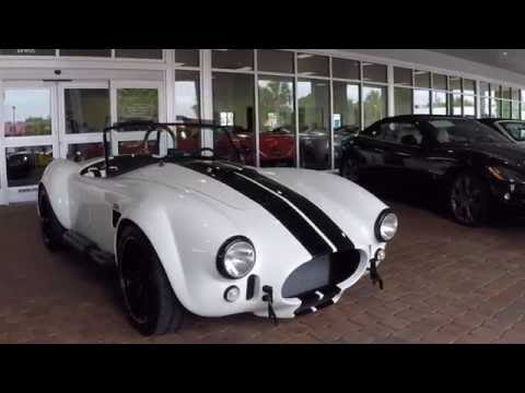 Repeat 1965 Backdraft Replica Shelby Cobra in Sage Green by