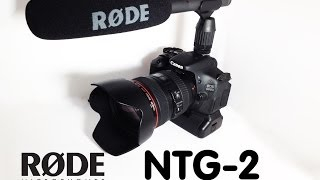 Rode NTG-2 Unboxing Deutsch