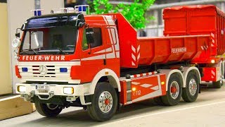 COOL RC MODEL TRUCKS, RC VEHICLES, RC TIPPER, RC CRAWLER, RC FORK-LIFT TRUCK IN ACTION!!