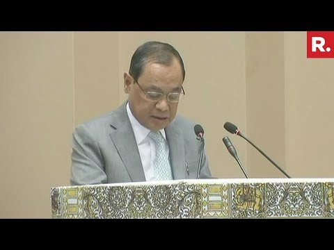 Watch CJI Ranjan Gogoi's Address On Constitution Day In New Delhi