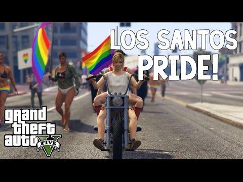 Los Santos Pride | Pride Parade Mod In GTA 5 | #Love
