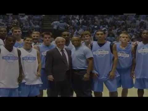 Carolina Basketball Honors Stuart Scott at 2011 Late Night