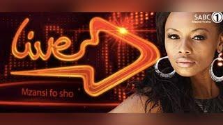 Dj Zee on SABC1 Live