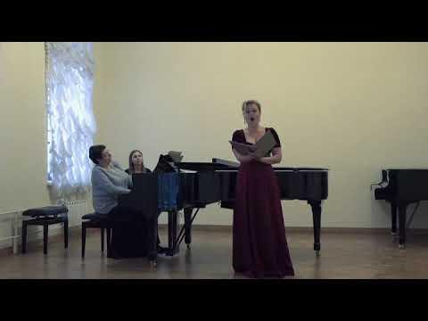 N.Medtner Op. 41, №1 Sonate-Vocalise (C эпиграфом «Священное место»)E.Olkhovskaya,T.Kandinskaya