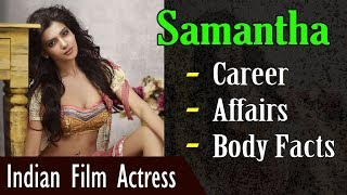 Samantha Biography with Body Facts (Height   Weight   Age)   Gyan Junction