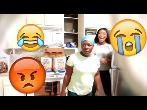 COCAINE PRANK ON MY AFRICAN MOM !!!!