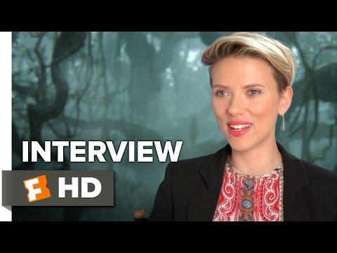 The Jungle Book Interview - Scarlett Johansson (2016) - Adventure Movie HD