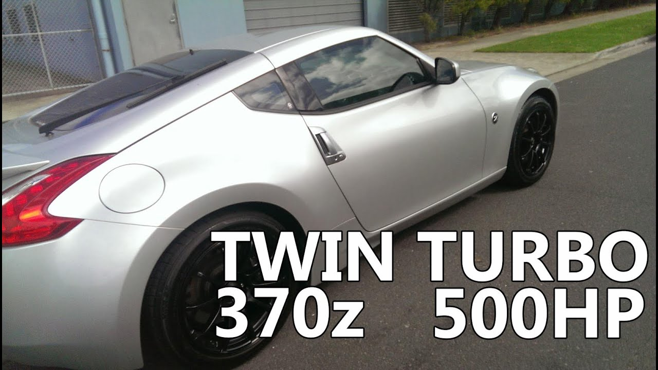 nissan 370z twin turbo accelleration 1 480whp youtube. Black Bedroom Furniture Sets. Home Design Ideas