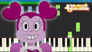 Steven Universe The Movie - Drift Away - Piano Tutorial