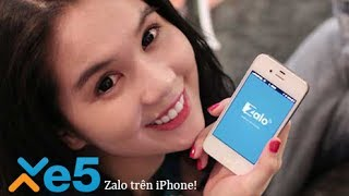 XE5.VN Hướng dẫn cài đặt Zalo cho iOS trên iPhone