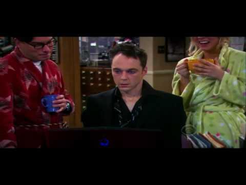 The Big Bang Theory - Sheldon drunk!