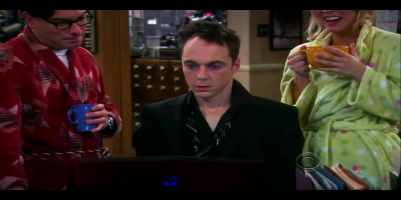 big bang theory drunk sheldon