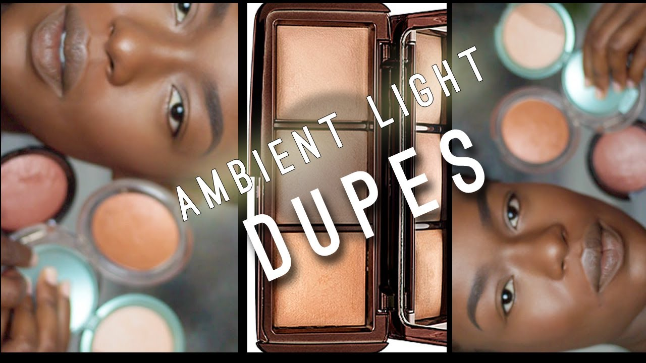 hourglass ambient light dupes bronzers