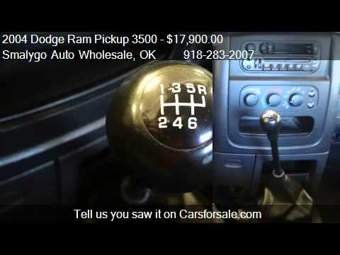 2004 Dodge Ram Pickup 3500 SLT 4dr Quad Cab 4WD LB DRW for s