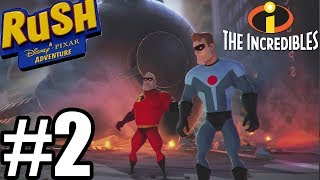 Rush A Disney Pixar Adventure Gameplay Walkthrough Part 2 - The Incredibles