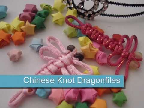 Tutorial Chinese Knot Dragonflies Youtube