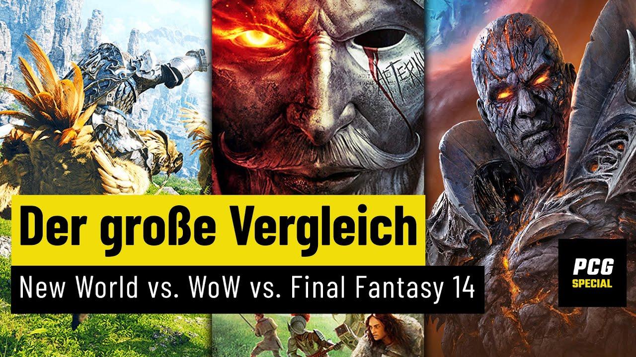 New World vs. WoW vs. Final Fantasy 14 | Wie gut schlägt sich das Amazon-MMO?