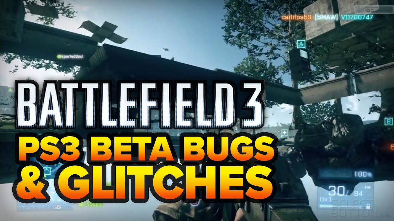 Battlefield 3 (Beta) - Ground Glitch