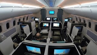 Top 10 Airlines - Oman Air Business Class Boeing 787 Review Muscat to Bangkok