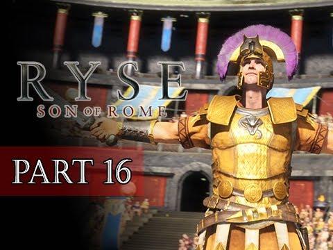 Ryse Son Of Rome Walkthrough Part 16 BOSS Commodus XBOX
