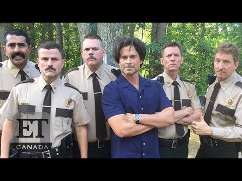 Rob Lowe Channels Justin Trudeau In