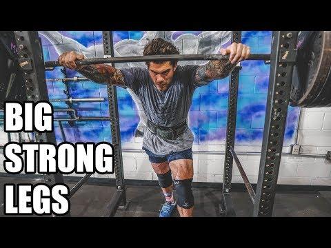 TRAIN LIKE ME: BIG STRONG LEGS & ARMS (FREE PROGRAM)