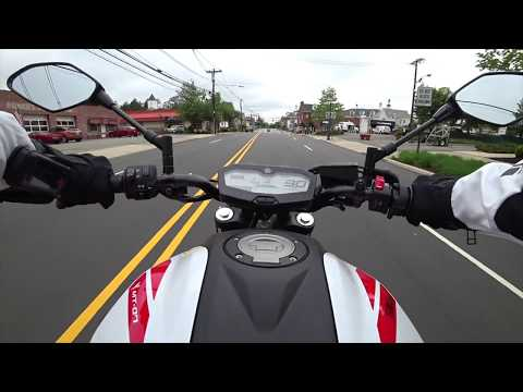 First Ride on My NEW 2018 Yamaha MT-07 the NEW FZ-07 - Cool POV