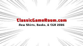 NEW CLASSIC GAME ROOM SITE & SHIRTS!!
