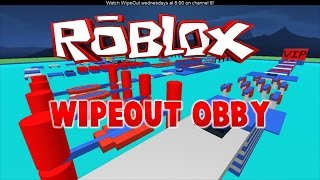 ROBLOX:Wipeout Obby! w/ My Friend