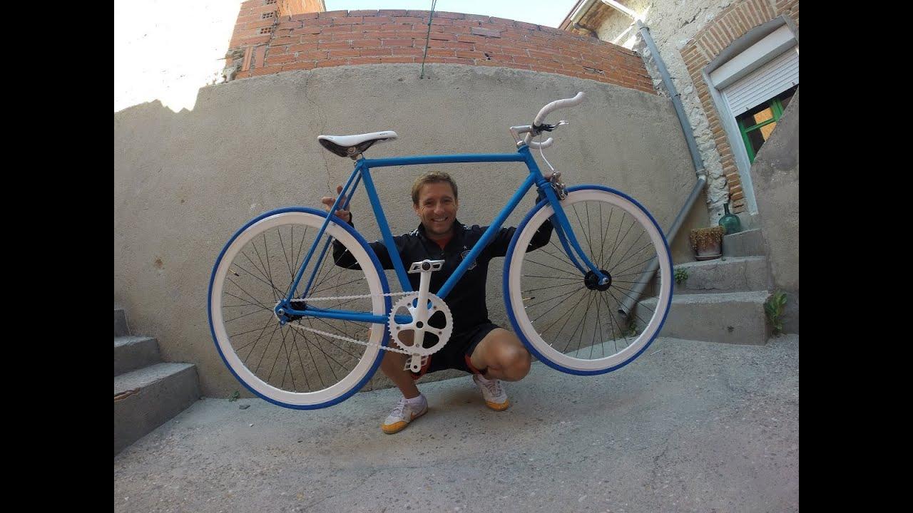 Cmo hacer una bicicleta fixie en 20 minutos YouTube