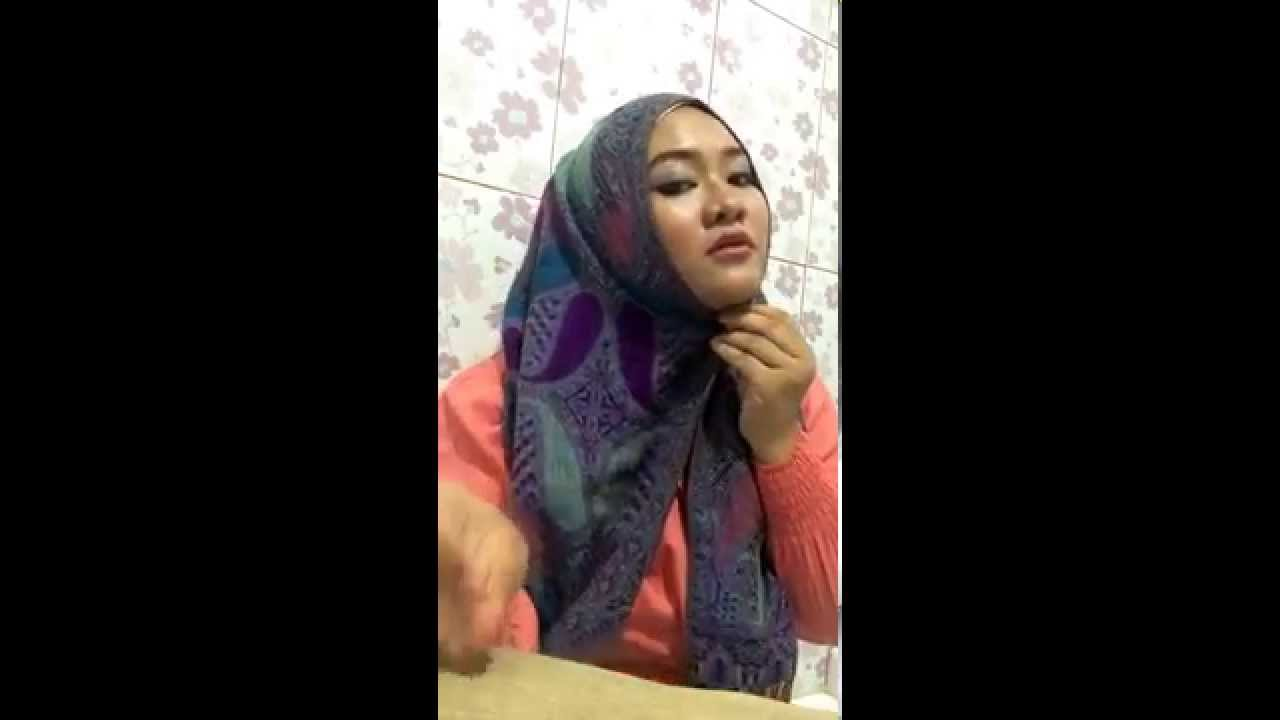 Tutorial Hijab Tumpuk YouTube