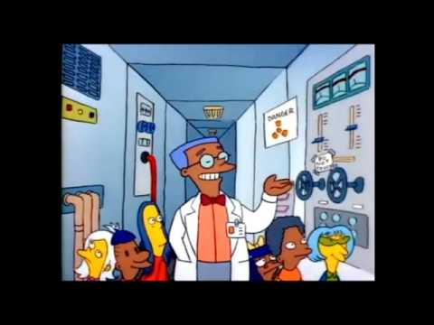 The Simpsons: A School trip to the nuclear power plant [Clip]