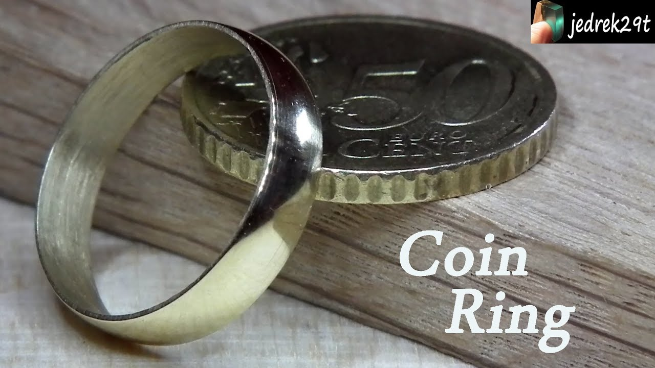 How to make a Ring with a Coin. DIY