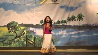 Yashitha performing at Arizona Telugu Association 2015
