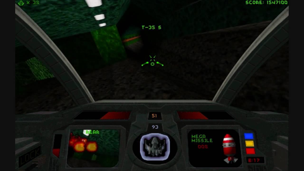 Descent Maximum PS1 ROM #7