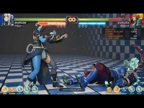 Fighting EX Layer (Beta): Ways into Renbu w/ Shirase