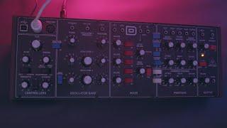 Behringer Model D - Sound Demo 2021 (No Talking)
