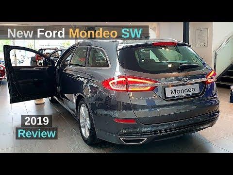 New Ford Mondeo SW Estate 2019 Review Interior Exterior