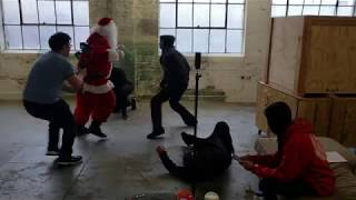 Tyrone Magnus Saves Christmas - Fight Scene Clip #2!!!