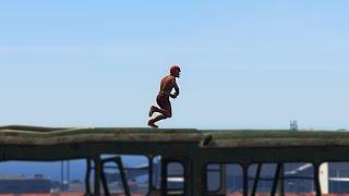 KAKO SAM GA AUTOM UDARIO AUH ! Grand Theft Auto V - Cars VS Runners w/Cale