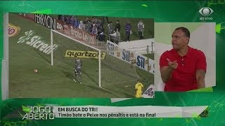 Denilson: Futebol que o Corinthians fez foi ridículo!