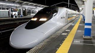 【HD】JR山陽新幹線 こだま700系新幹線(8両編成) 福山駅発車