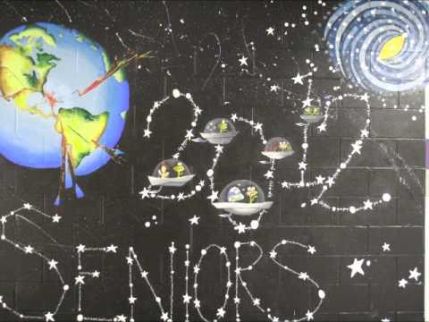 East Knox High School Senior Mural Time Lapse